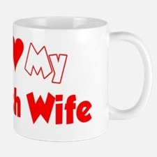 I Love My Polish Wife Shirt Mug