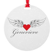 Angel Wings Genevieve Ornament