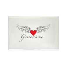 Angel Wings Genevieve Magnets
