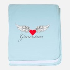 Angel Wings Genevieve baby blanket