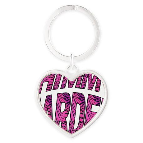 DT Shirt Transfer Pink Tiger_html_c Heart Keychain