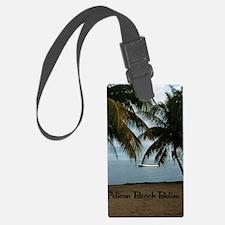 2-Pelican Beach Belize200 writin Luggage Tag