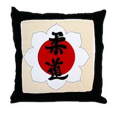 Judo1 Throw Pillow