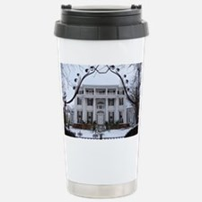 Linden Place in winter Stainless Steel Travel Mug