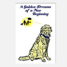goldendreams-wb Postcards (Package of 8)