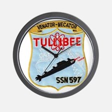 tullibee patch transparent Wall Clock