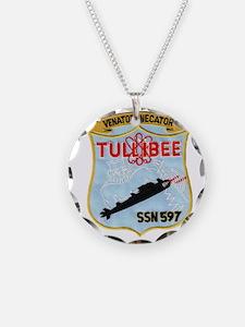 tullibee patch transparent Necklace