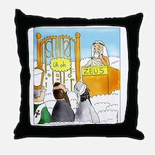 Zeus1 Throw Pillow