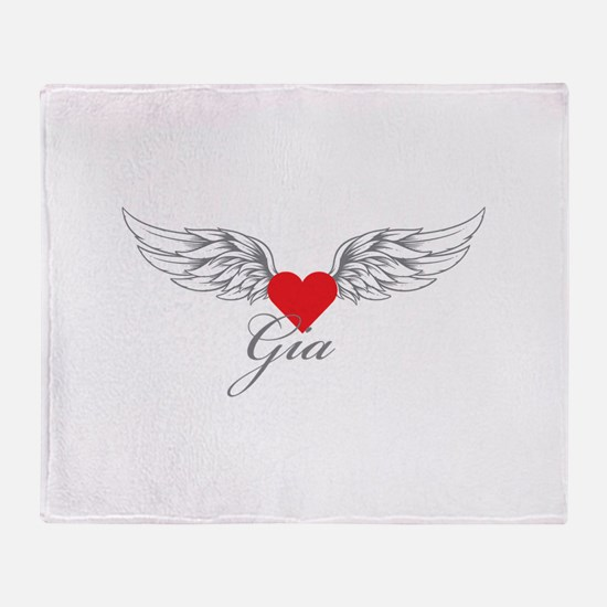 Angel Wings Gia Throw Blanket