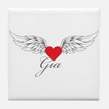Angel Wings Gia Tile Coaster