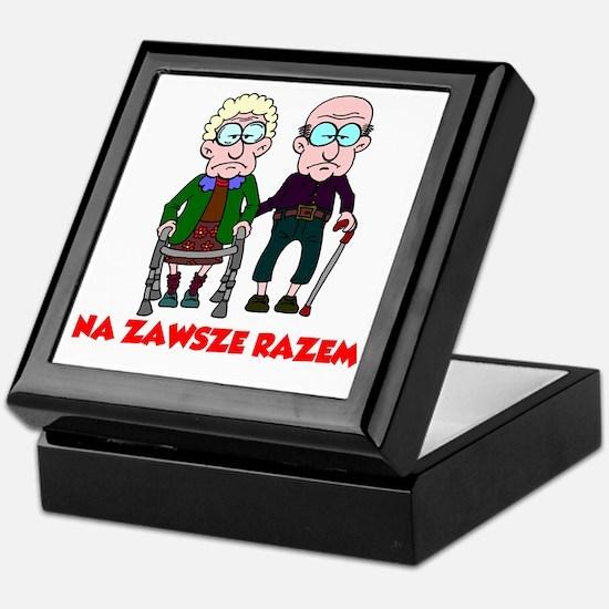 Na Zawsze Razem Shirt Keepsake Box