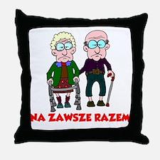Na Zawsze Razem Shirt Throw Pillow