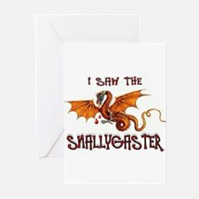 SNALLYGASTER DONE Greeting Cards