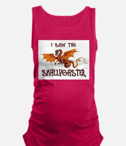 SNALLYGASTER DONE Maternity Tank Top