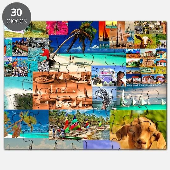 10 x10  XX fin B o B  collage cafepress 201 Puzzle