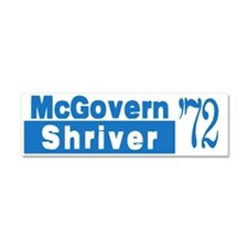 McGovern 1972 Car Magnet 10 x 3