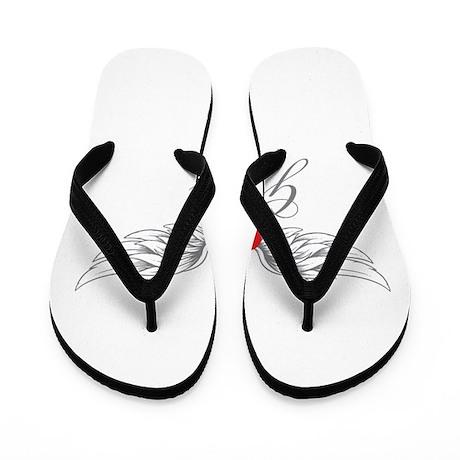 Angel Wings Giada Flip Flops