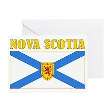 Nova Scotia-Flag Greeting Card