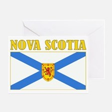 Nova Scotia-Flag Greeting Card