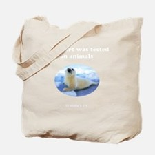Didnt_Fit_8x8_white Tote Bag