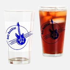LittleRockStar_darkBlue Drinking Glass