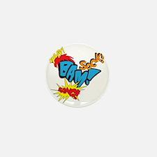 Baby Super Hero Mini Button