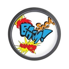 Baby Super Hero Wall Clock