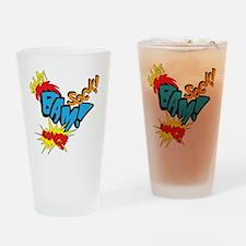 Baby Super Hero Drinking Glass