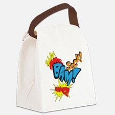 Baby Super Hero Canvas Lunch Bag