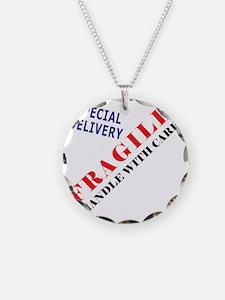 Fragile Baby Shirt Back Necklace