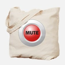 Mute Button Tote Bag