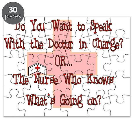Funny Nurse Puzzle