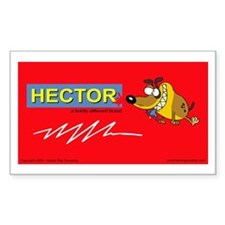 Hector Brand Rectangle Decal