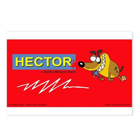 Hector Brand Postcards (Package of 8)