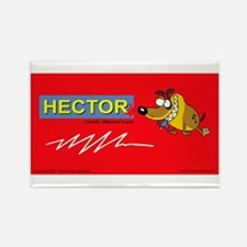 Hector Brand Rectangle Magnet