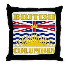 British Columbia-Flag Throw Pillow