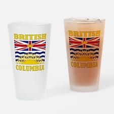British Columbia-Flag Drinking Glass