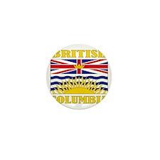 British Columbia-Flag Mini Button