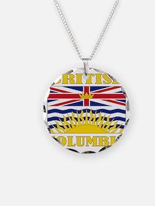 British Columbia-Flag Necklace