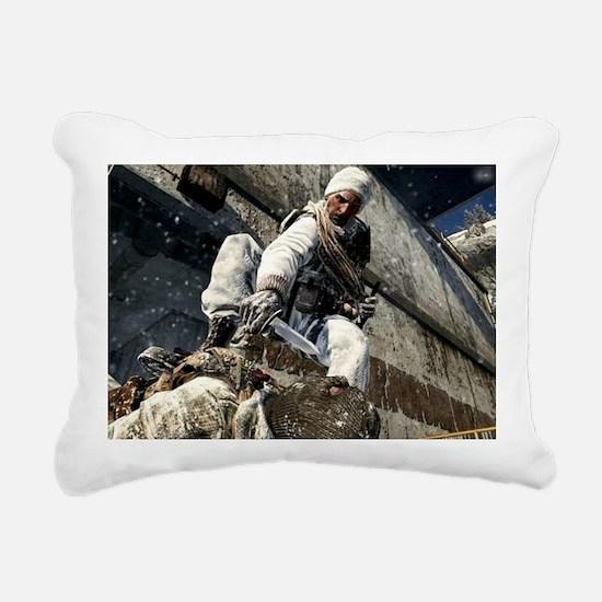 Call of Duty Rectangular Canvas Pillow