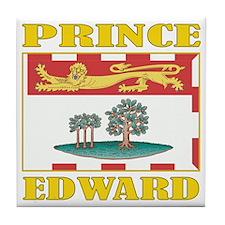Prince Edward Is-Flag Tile Coaster