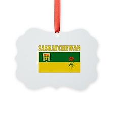 Saskatchewan-Flag Ornament