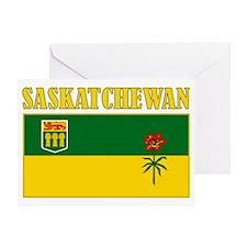 Saskatchewan-Flag Greeting Card
