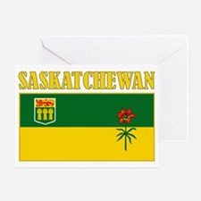 Saskatchewan-Flag Greeting Card