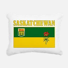 Saskatchewan-Flag Rectangular Canvas Pillow