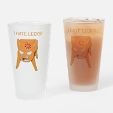 1Ihateleeks Drinking Glass
