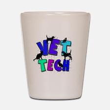 vet tech Shot Glass