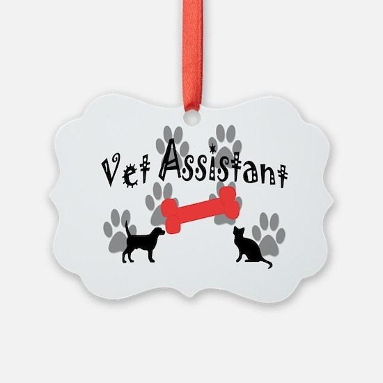 Vet Assistant Ornament