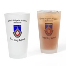 299th Brigade Support Bn Drinking Glass