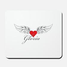Angel Wings Gloria Mousepad